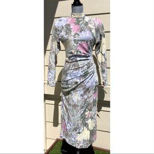 1c2dfba9834 contempo casual Dresses - Contempo Casuals Vintage 80 s 90 s Ruched Dress